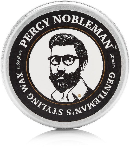 Percy Nobleman Gentleman's Styling Wax 50ml Top