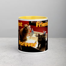 Load image into Gallery viewer, Z Jennebelle Collection, BFF Sweety & Jester Mug with Color Inside