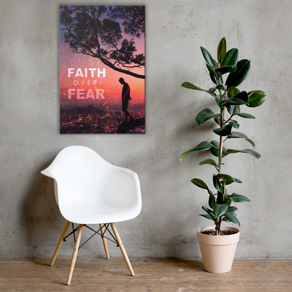 Faith Over Fear Canvas