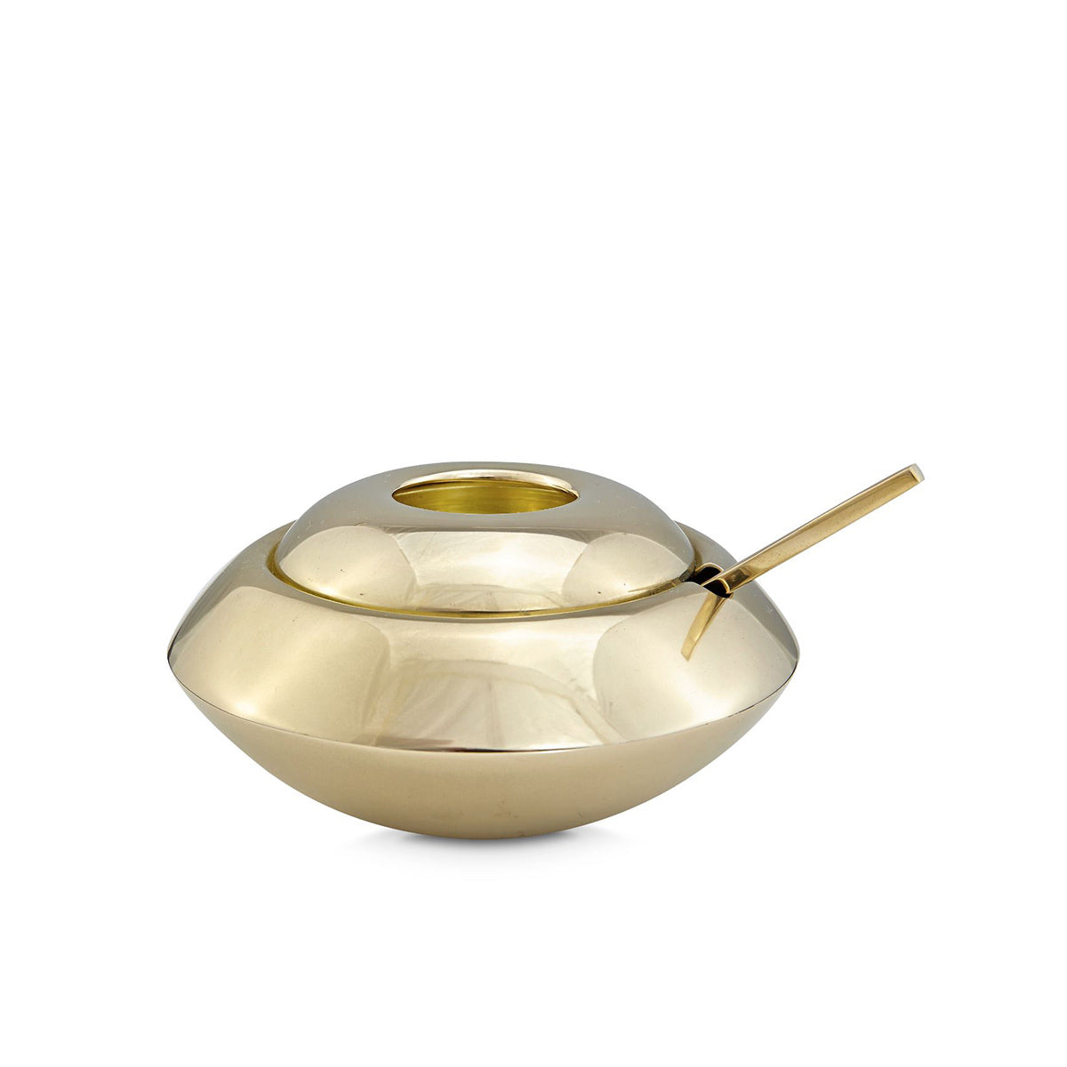 Tom Dixon Form Sugar Bowl And Spoon