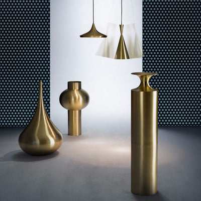 Tom Dixon Beat Vessel Tall Brass