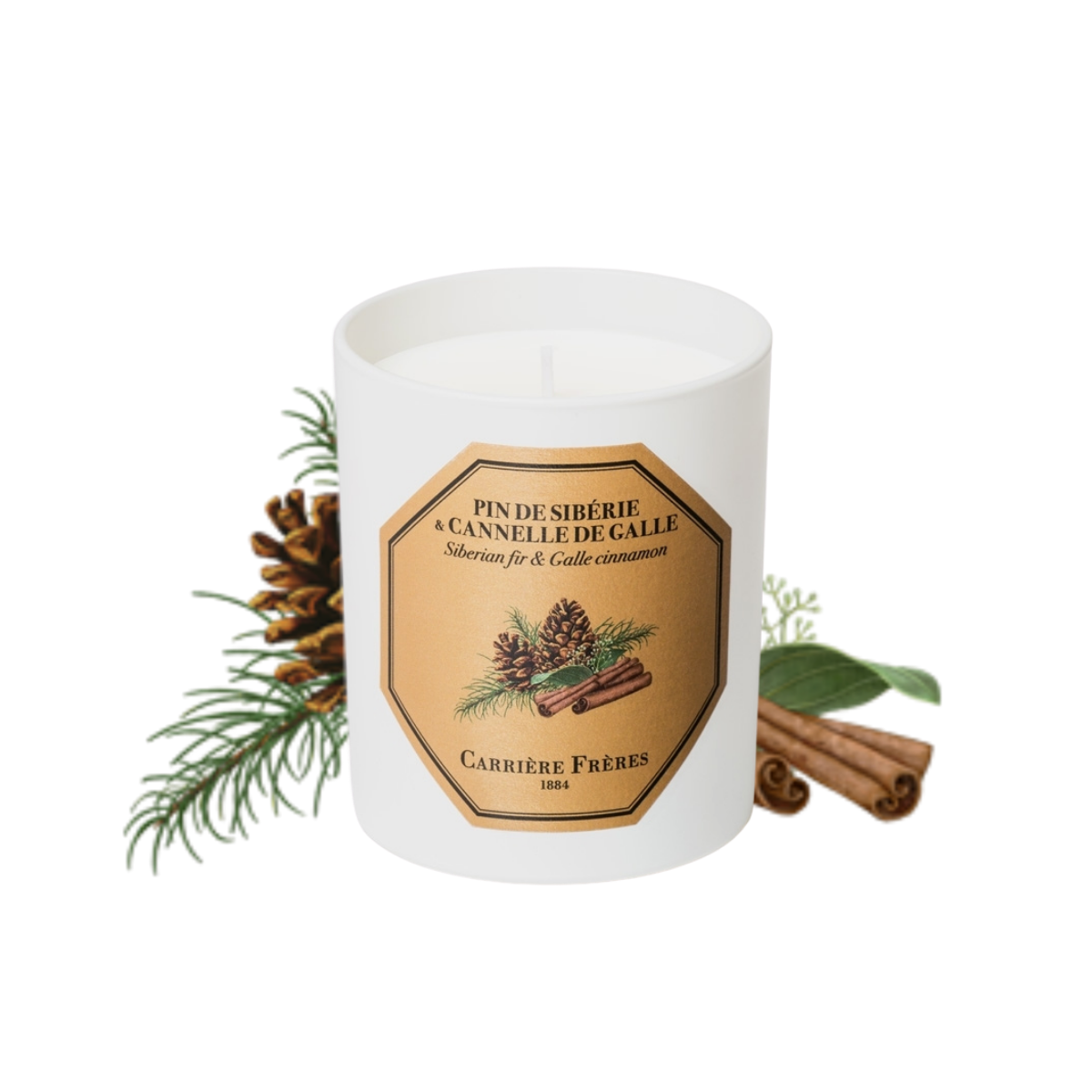 Carriere Freres 2020 Pine Cinnamon Candle 185g