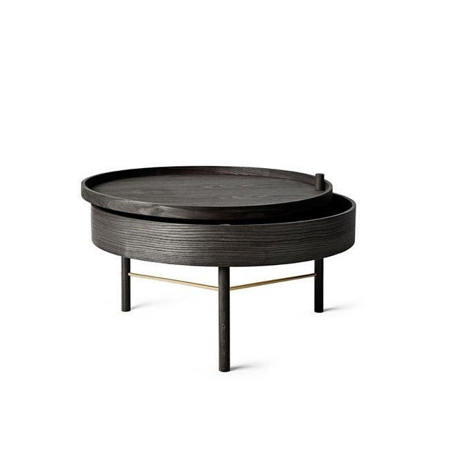 Menu Turning Table , Black Ash