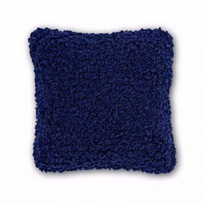Tom Dixon Boucle Cushion - Electric Blue