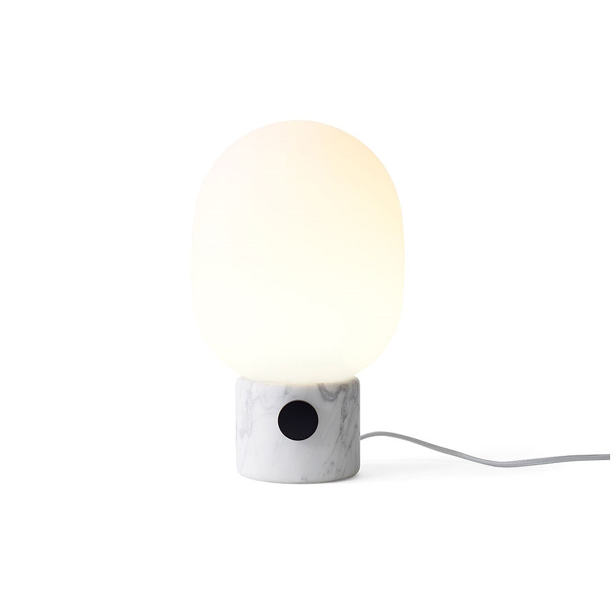 Menu JWDA Metallic Lamp, White Marble, by Jonas Wagell