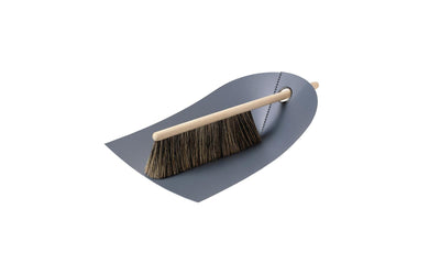Dustpan & Broom - Dark Grey