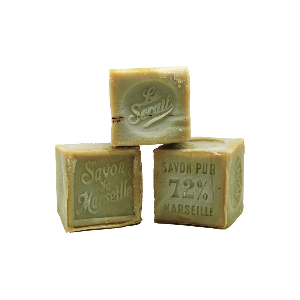300g Cube Soap by Le Serail - Olive