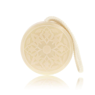 Hammam Soap on a Rope - Rose of Damascus