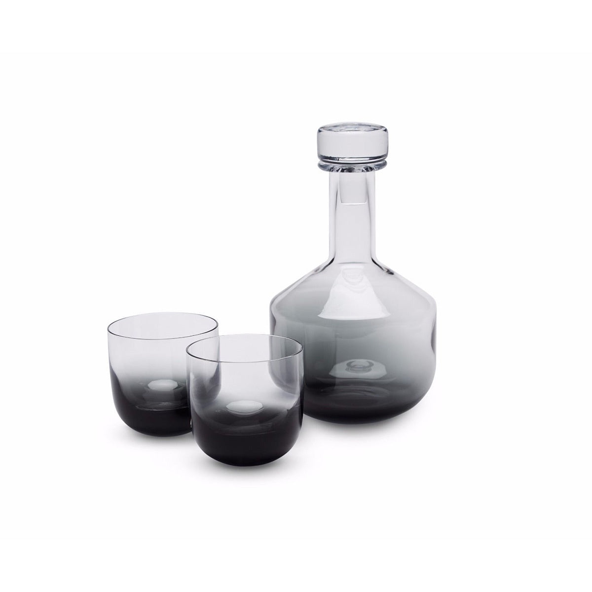 Tom Dixon Tank Whiskey Decanted 1L Black