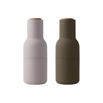 Menu Bottle Grinders Hunting Green/Beige by Norman Architects