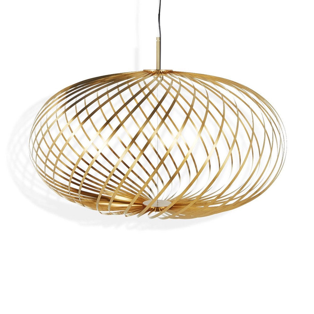 Tom Dixon Spring Pendant Brass LED - Medium