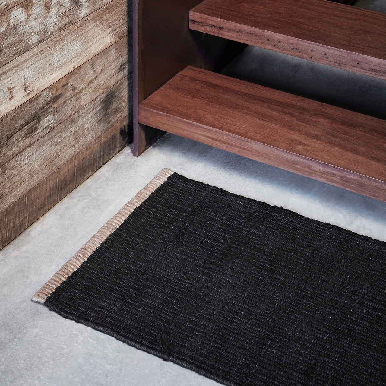 Nest Weave Entrance Mat- Charcoal 0.6 x 1m