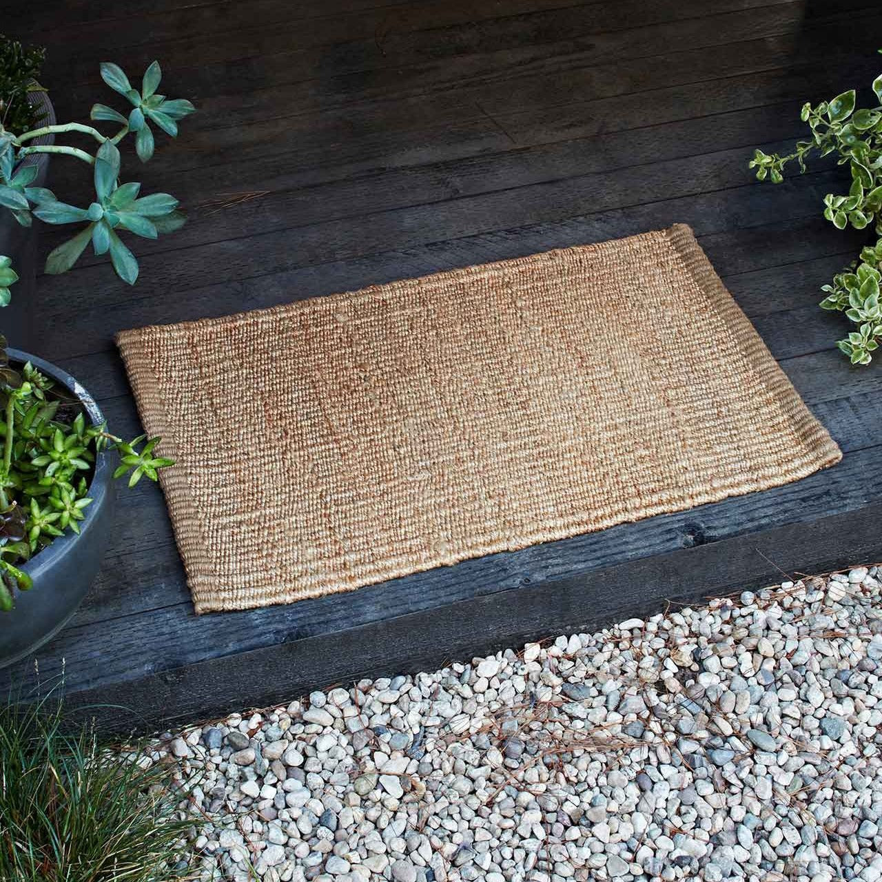 Nest Weave Entrance Mat- Natural 0.6 x 1m