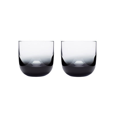 Tank Whiskey Glass Set Of 2 Black