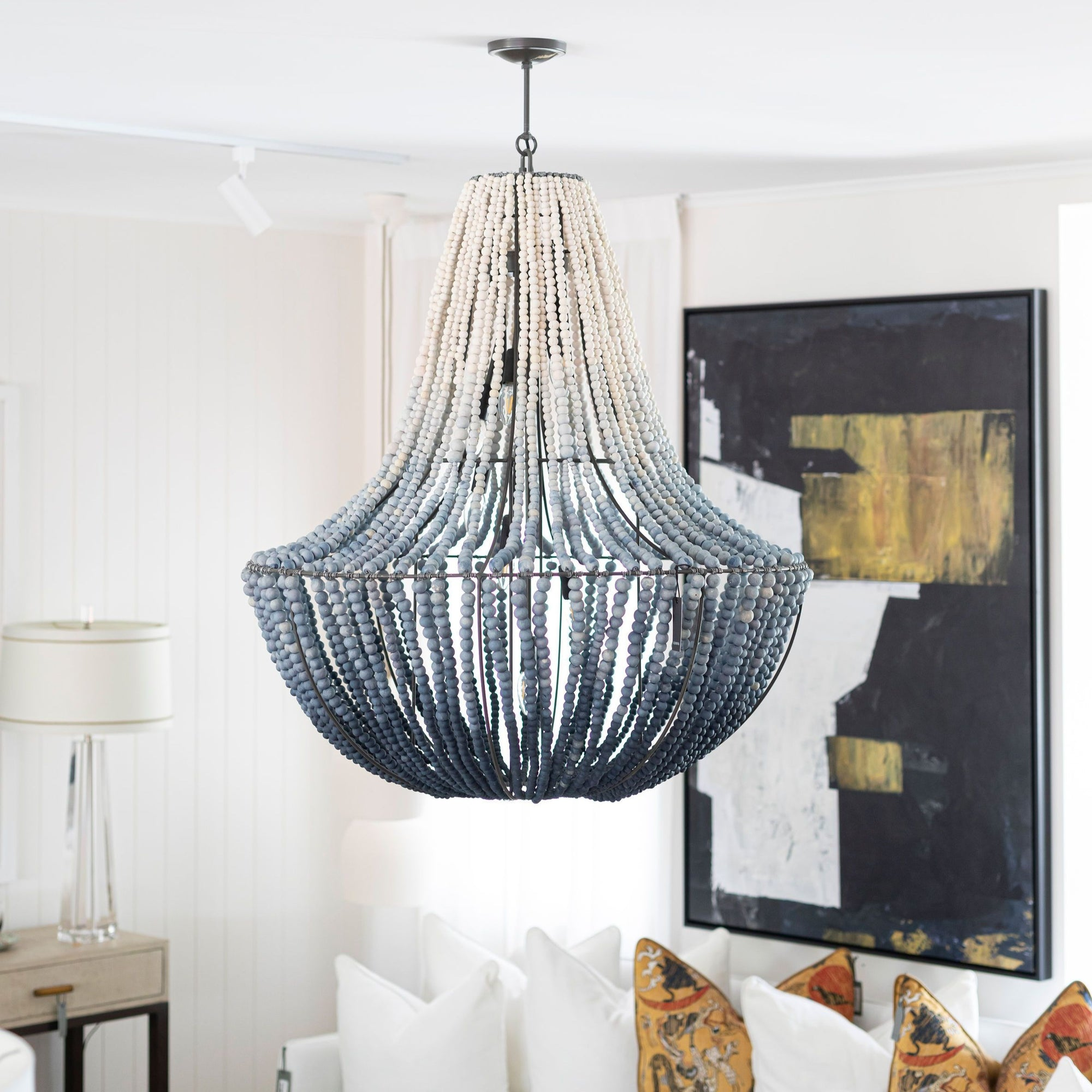 LIM - X-Large - Ink Ombre Chandelier