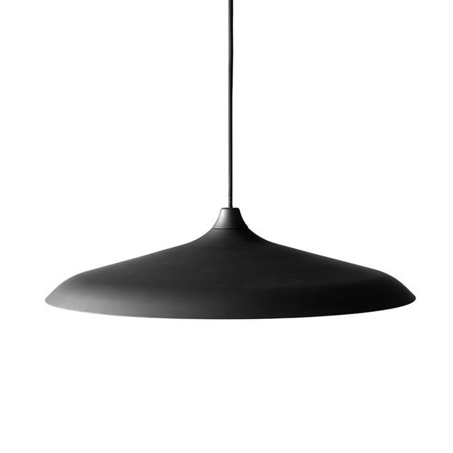 Menu Circular Lamp - Black