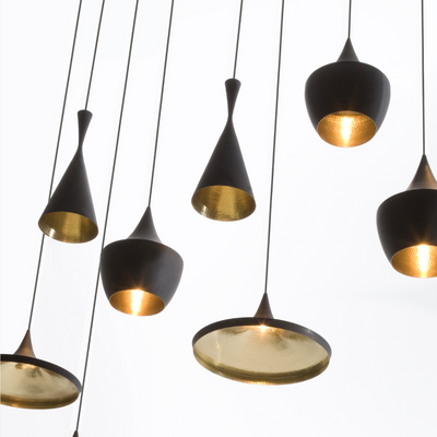 Beat Tall Pendant by Tom Dixon