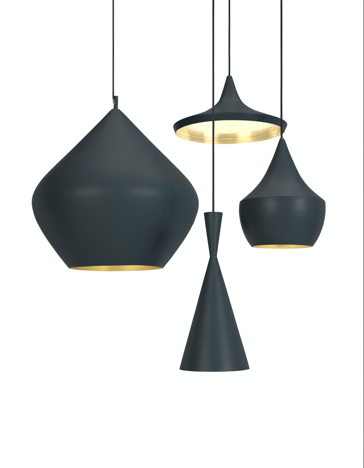 Beat Stout Pendant Black by Tom Dixon