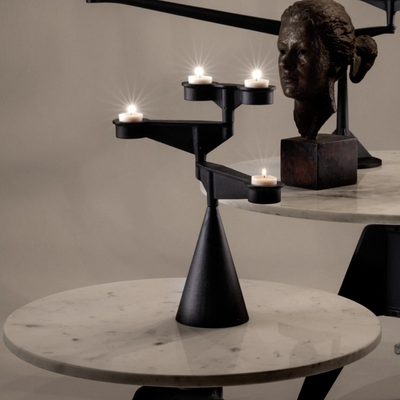 Tom Dixon  Spin Mini Candelabra