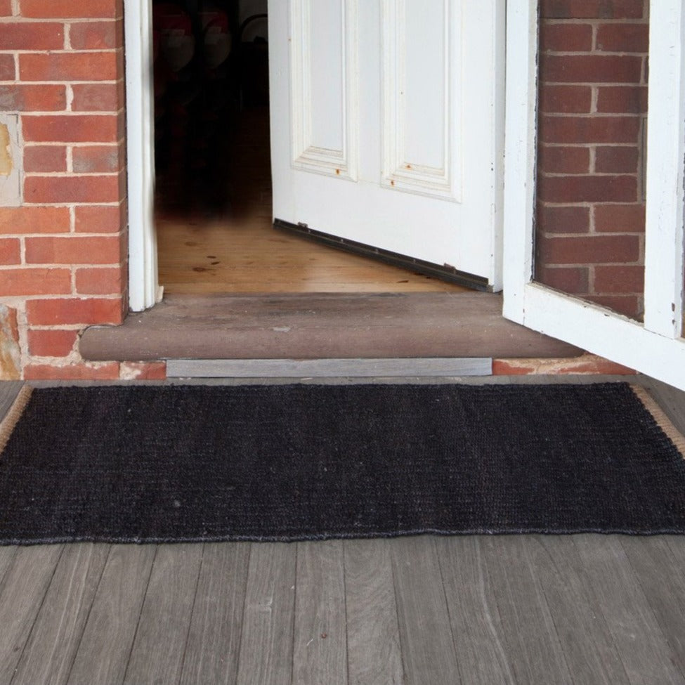 Nest Weave Entrance Mat- Charcoal 0.5 x 1.4m