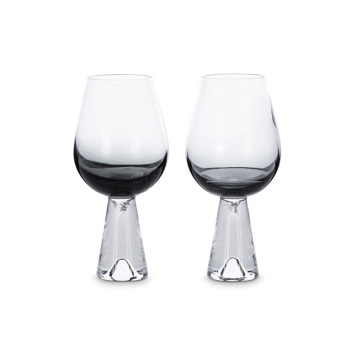 Tom Dixon Tank Wine Glasses Black Set 2