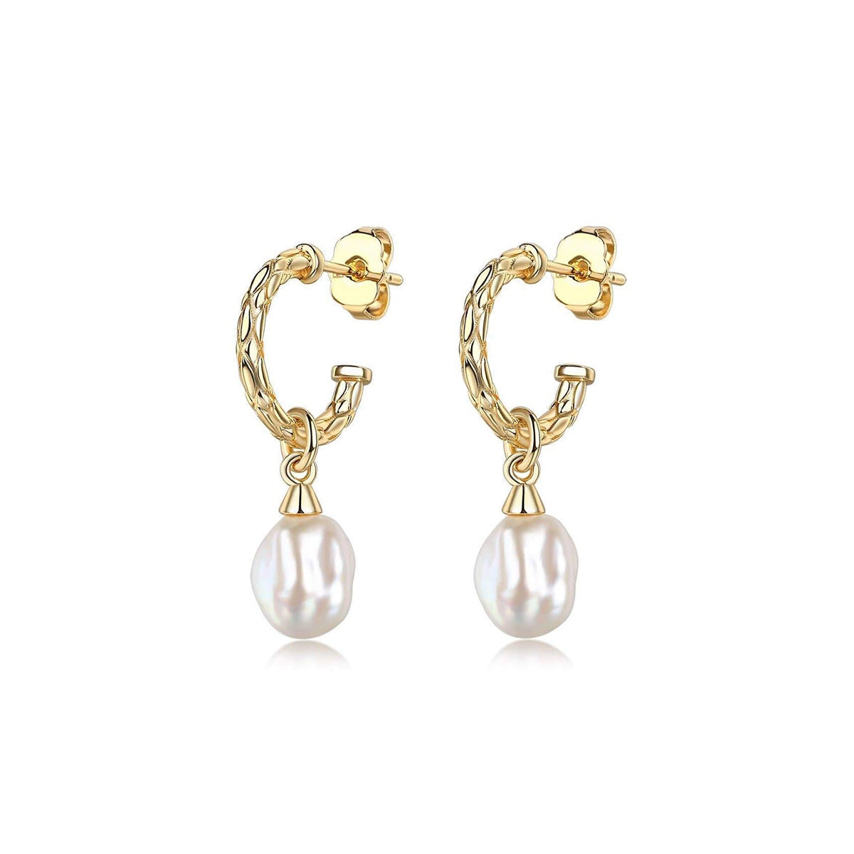 Lenny Pearl Charming Earrings