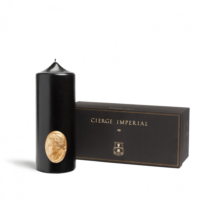 Cire Trudon Imperial Pillar Candle Black