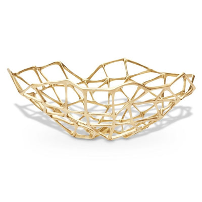Tom Dixon Bone Bowl Extra Large Brass