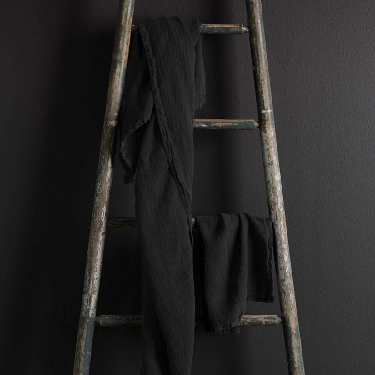 Bath Hand Towel - Charcoal
