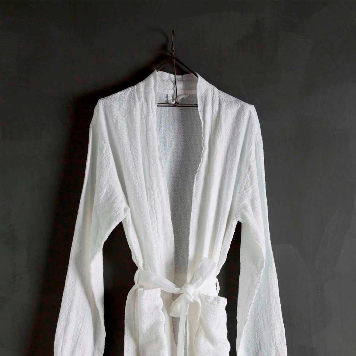Bath Robe-White