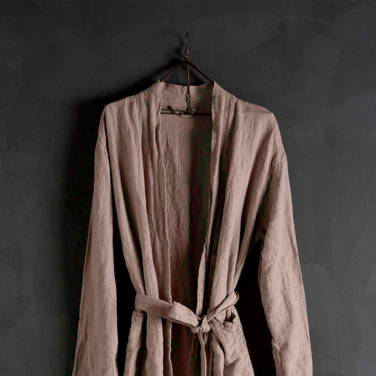Bath Robe- Natural