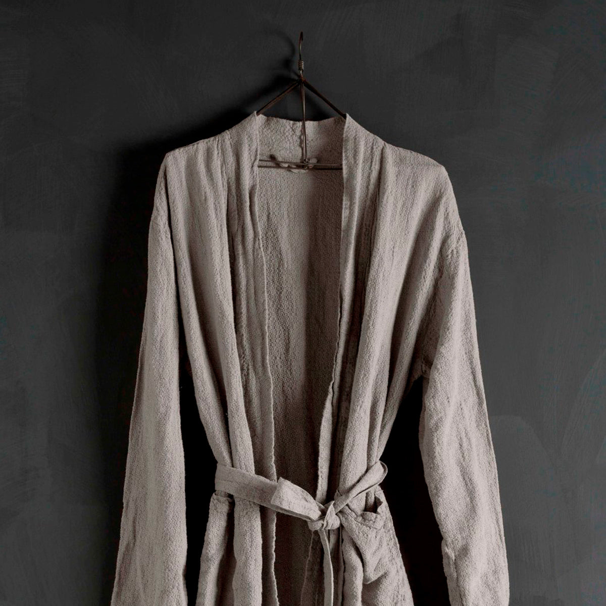 Bath Robe-Grey