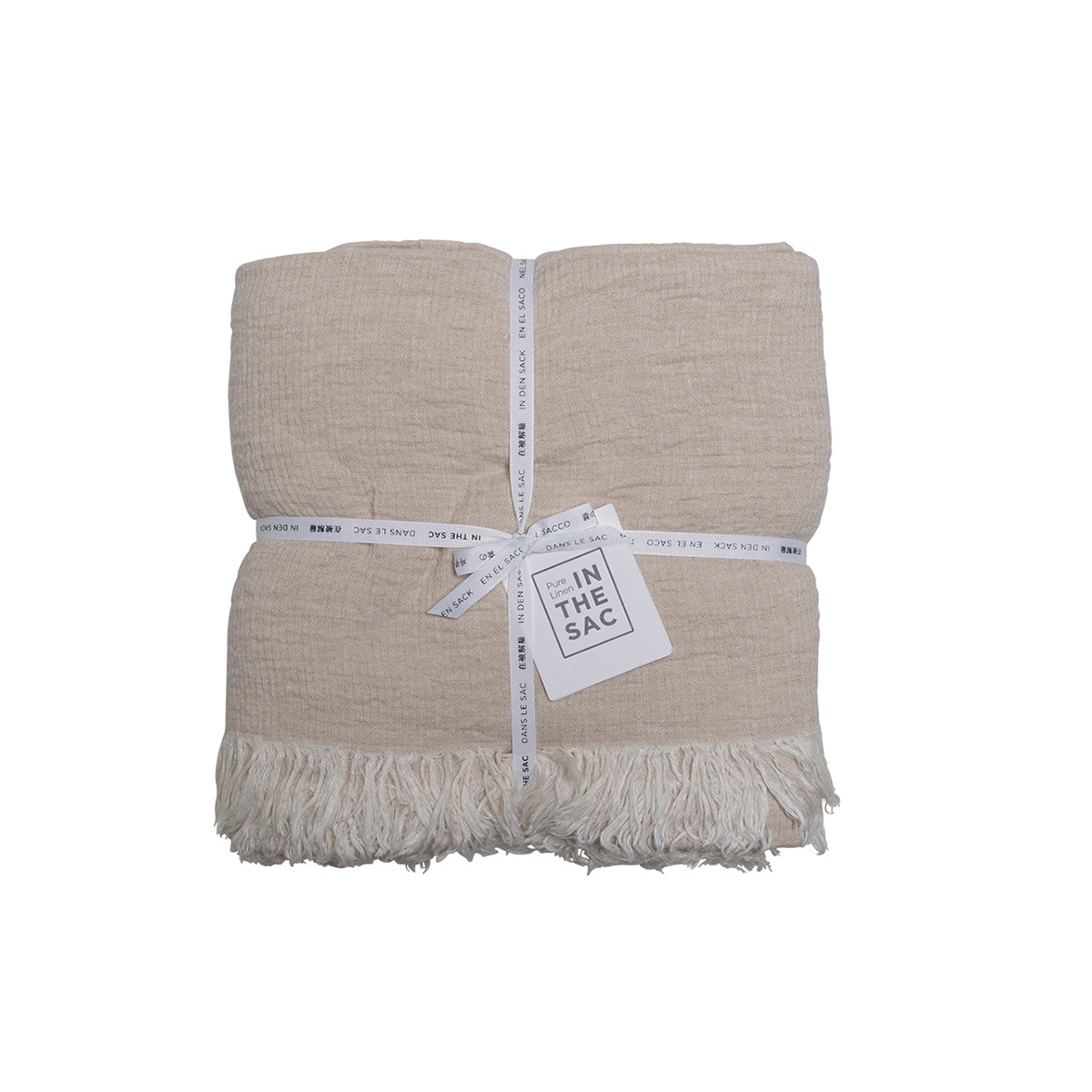Avenue Throw- Natural