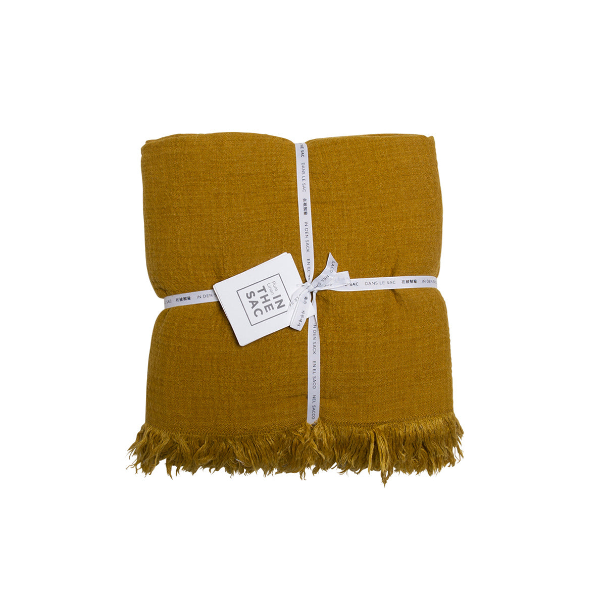 Avenue Throw- Mustard