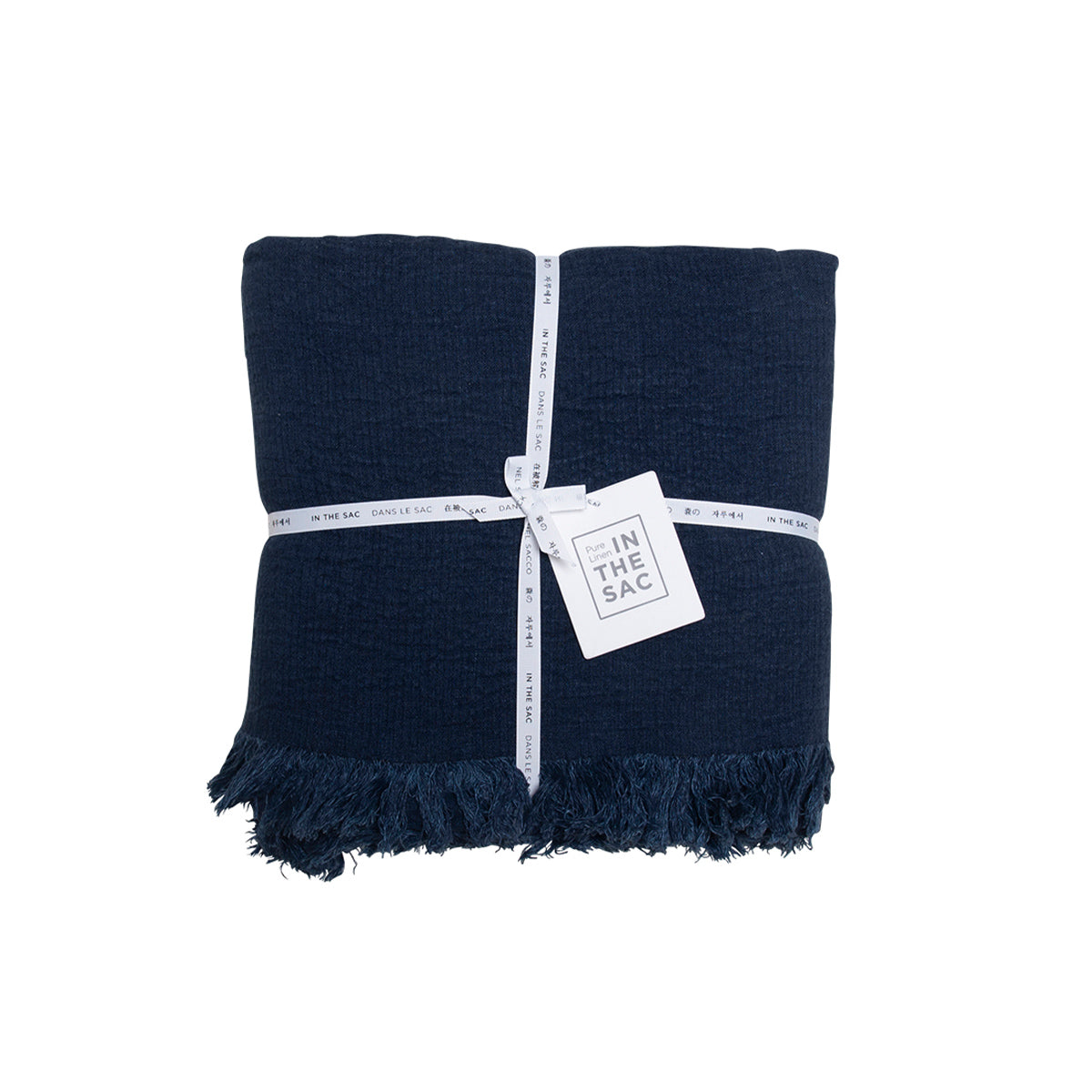 Avenue Throw- Denim