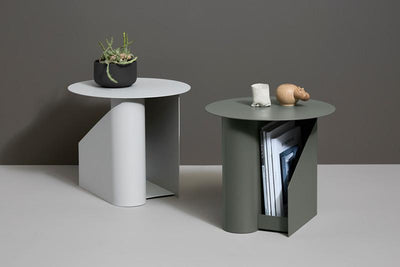 Sentrum Side Table Light Grey