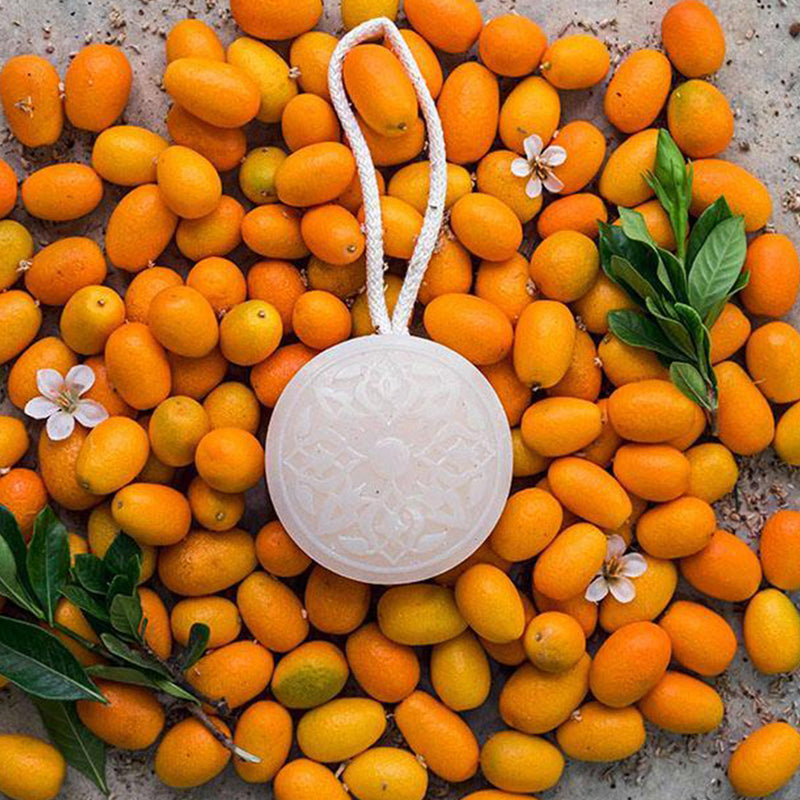 Hammam Soap on a Rope - Orange Blossom