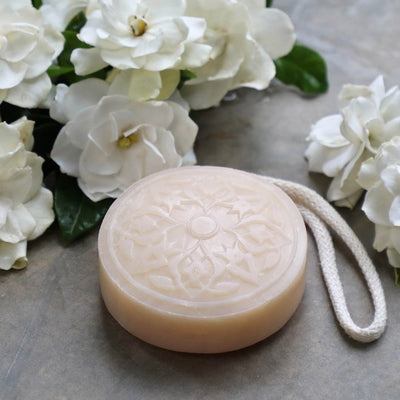 Hammam Soap on a Rope - Oriental Gardenia