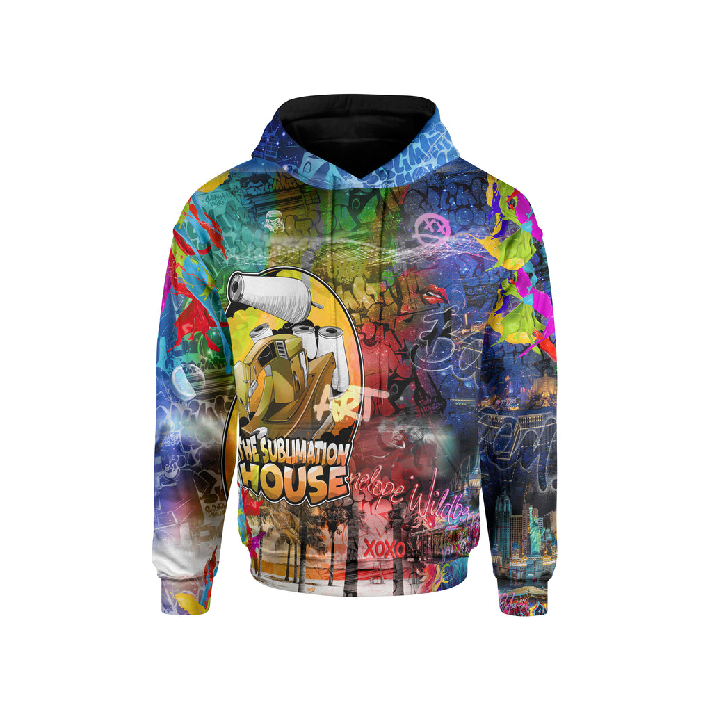CUSTOM SUBLIMATED HOODY - HEAVYWEIGHT