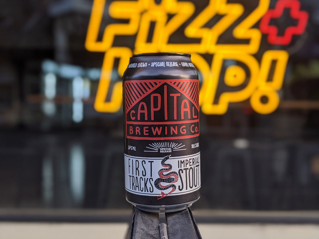 Capital Brewing - First Tracks Imperial Stout