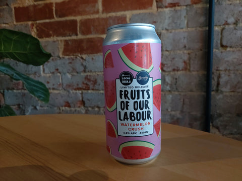 Local Beer - Watermelon Crush Hazy Pale