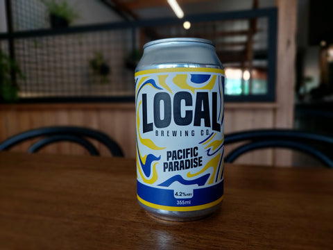 A Local Beer - Pacific Paradise