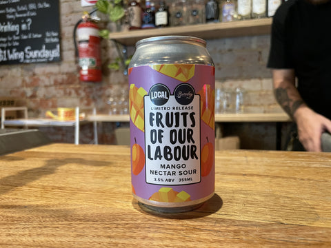 Local Beer - Fruits Of Our Labour Mango Nectar Sour