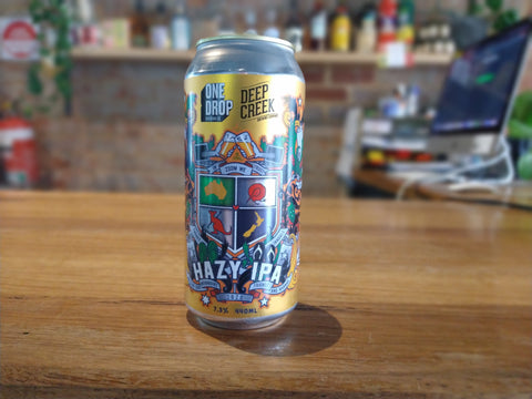 One Drop - Deep Creek Collab Hazy IPA
