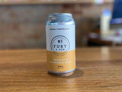 Fury & Son - Apricot and Mandarin Sour