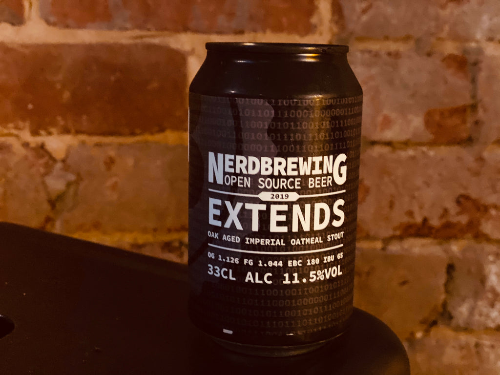 NERD Brewing Extends Imperial Oatmeal Stout