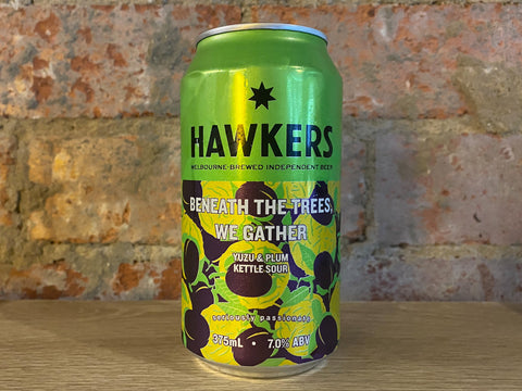 Hawkers - Beneath the Trees We Gather Yuzu & Plum Sour