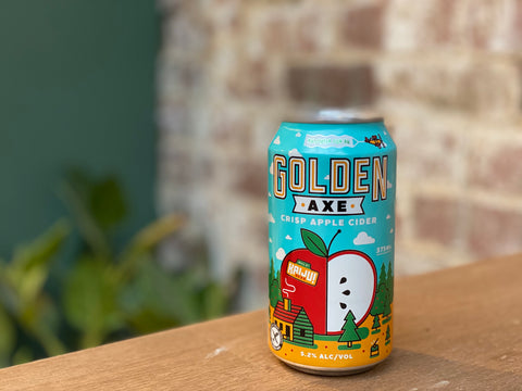 Kaiju Golden Axe Cider