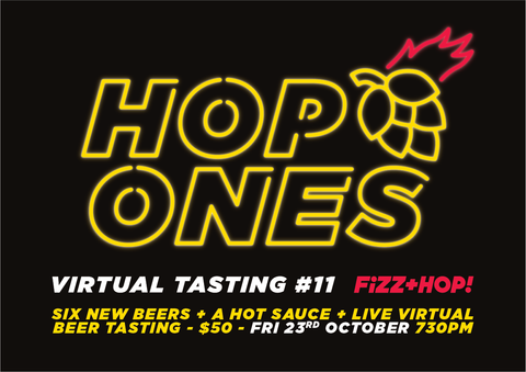 Virtual Tasting #11 - Hop Ones!
