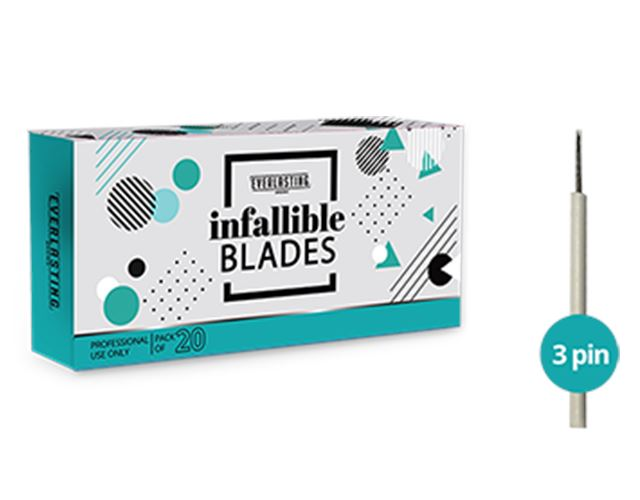 3 Pin Shading Blades Lash Kings Distribution
